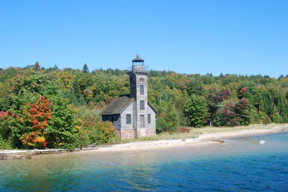 East Channel Lighthouse on Grand Island